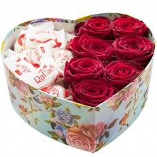 Коробочка Розы и конфеты